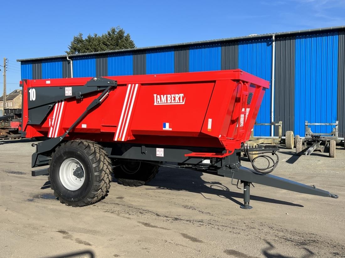Remorque agricole et benne agricole 10 tonnes for Prix espace vert