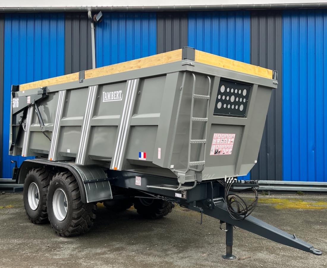 Remorque agricole et benne agricole 16 tonnes - Remorque porte outil agricole ...